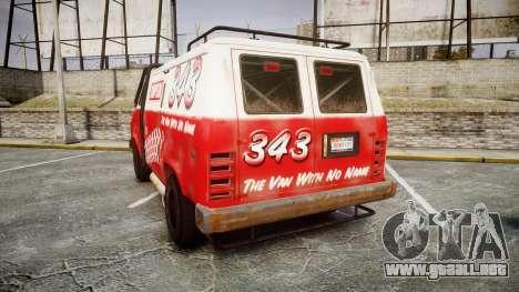 Kessler Stowaway Simpson para GTA 4 Vista posterior izquierda