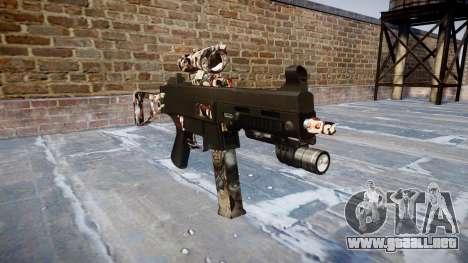 Pistola de UMP45 Zombies para GTA 4