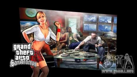 Las pantallas de carga para GTA San Andreas tercera pantalla
