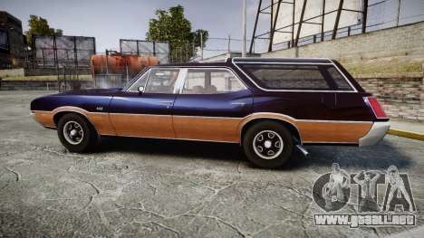 Oldsmobile Vista Cruiser 1972 Rims2 Tree2 para GTA 4 left