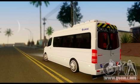 Mercedes-Benz Sprinter Autobuses Escolares para GTA San Andreas left