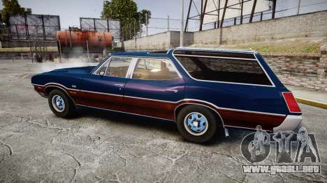 Oldsmobile Vista Cruiser 1972 Rims2 Tree4 para GTA 4 left