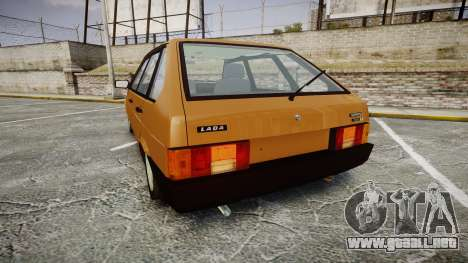 VAZ-2109 1500 i para GTA 4 Vista posterior izquierda