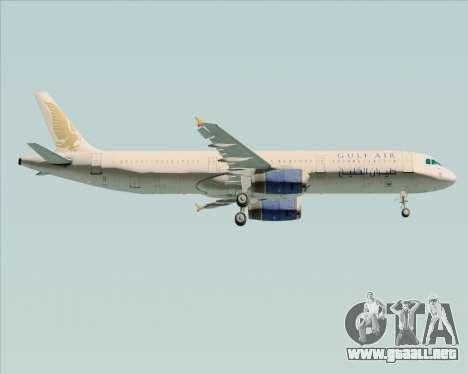 Airbus A321-200 Gulf Air para el motor de GTA San Andreas