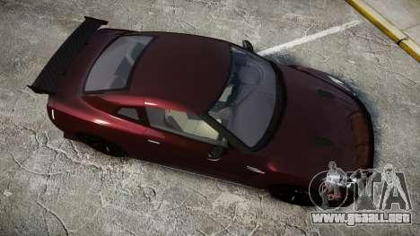 Nissan GT-R R35 Nismo para GTA 4 visión correcta