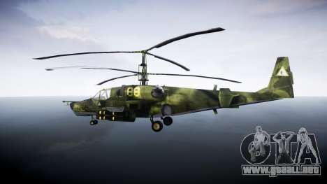 Ka-50 Black shark para GTA 4 left