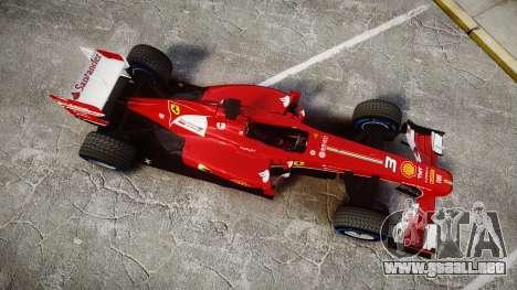 Ferrari F138 v2.0 [RIV] Alonso TFW para GTA 4 visión correcta