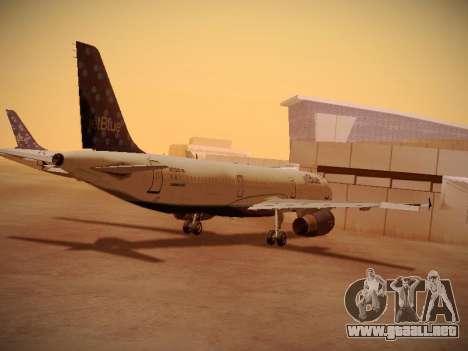 Airbus A321-232 Lets talk about Blue para la visión correcta GTA San Andreas