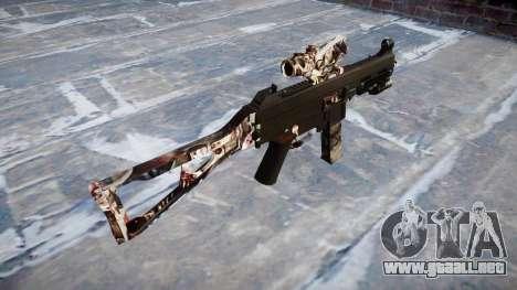 Pistola de UMP45 Zombies para GTA 4 segundos de pantalla