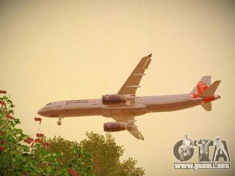 Airbus A321-232 jetBlue Boston Red Sox para el motor de GTA San Andreas