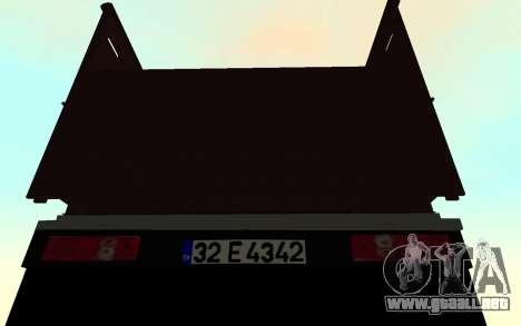 Mitsubishi Fuso 2010 para la visión correcta GTA San Andreas