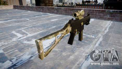 Pistola de UMP45 DEVGRU para GTA 4 segundos de pantalla