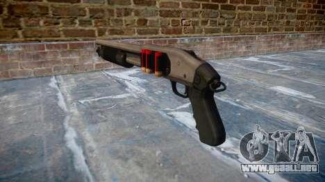 Riot escopeta Mossberg 500 icon2 para GTA 4 segundos de pantalla