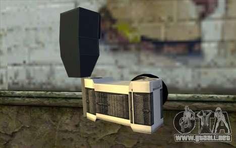 Camera from Beta Version para GTA San Andreas segunda pantalla