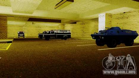 Vehículos nuevos en LSPD para GTA San Andreas sucesivamente de pantalla
