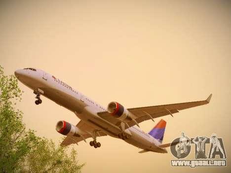 Boeing 757-232 Delta Airlines para visión interna GTA San Andreas