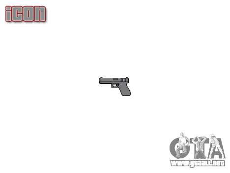 Gun Jericho 941 para GTA 4 tercera pantalla