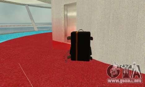 New parachute para GTA San Andreas segunda pantalla