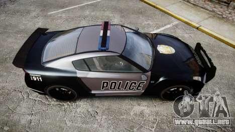 GTA V Annis Elegy RH8 Police [ELS] para GTA 4 visión correcta