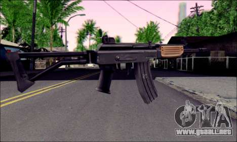 IMI Galil para GTA San Andreas segunda pantalla