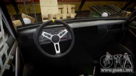 Kessler Stowaway Simpson para GTA 4 vista hacia atrás