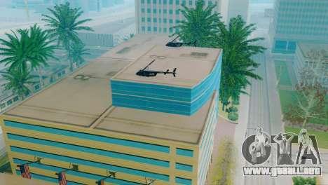 Vehículos nuevos en el LVPD para GTA San Andreas novena de pantalla
