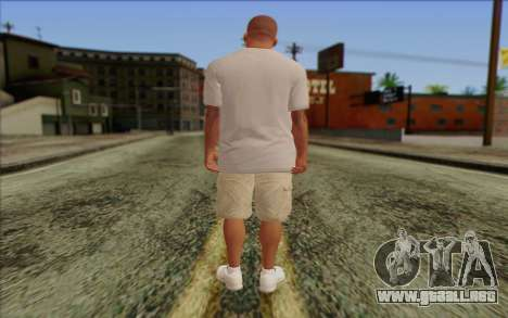 Franklin from GTA 5 para GTA San Andreas segunda pantalla