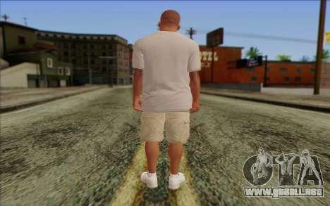 Franklin from GTA 5 para GTA San Andreas segunda pantalla