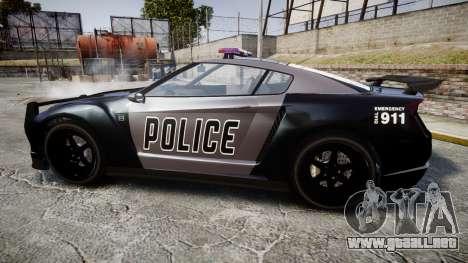 GTA V Annis Elegy RH8 Police [ELS] para GTA 4 left