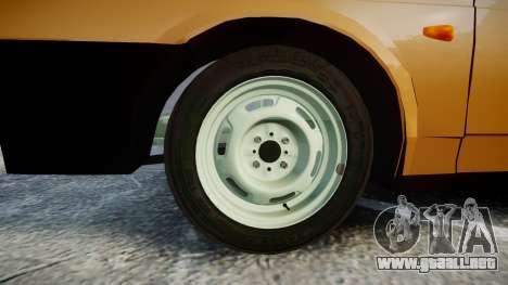 VAZ-2109 1500 i para GTA 4 vista hacia atrás
