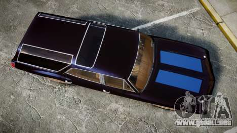 Oldsmobile Vista Cruiser 1972 Rims2 Tree2 para GTA 4 visión correcta