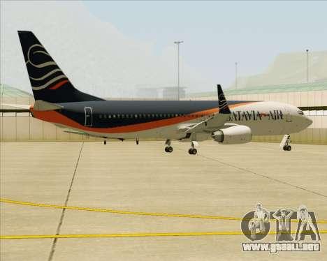 Boeing 737-800 Batavia Air (New Livery) para el motor de GTA San Andreas