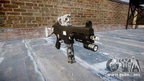 Pistola de UMP45 Diamante para GTA 4