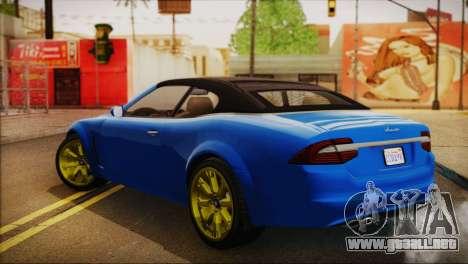 Lampadati Felon GT (IVF) para GTA San Andreas left
