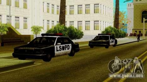 Vehículos nuevos en LSPD para GTA San Andreas