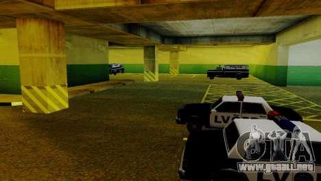 Vehículos nuevos en el LVPD para GTA San Andreas séptima pantalla