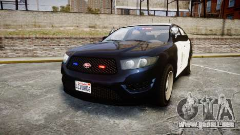 GTA V Vapid Interceptor LSP [ELS] Slicktop para GTA 4