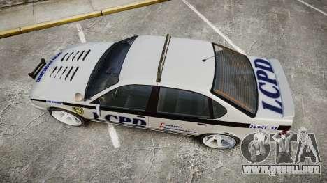 Declasse Merit Police Patrol Speed Enforcement para GTA 4 visión correcta