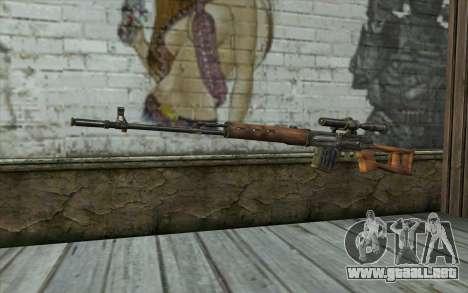 СВД (Battlefield: Vietnam) para GTA San Andreas