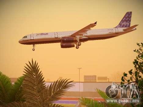 Airbus A321-232 Lets talk about Blue para el motor de GTA San Andreas