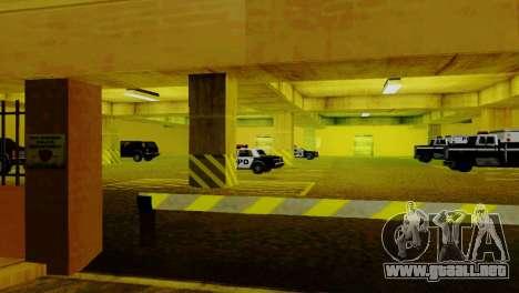 Vehículos nuevos en el LVPD para GTA San Andreas sexta pantalla