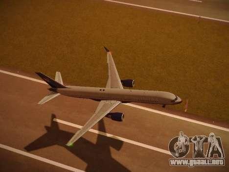 Boeing 757-224 United Airlines para el motor de GTA San Andreas