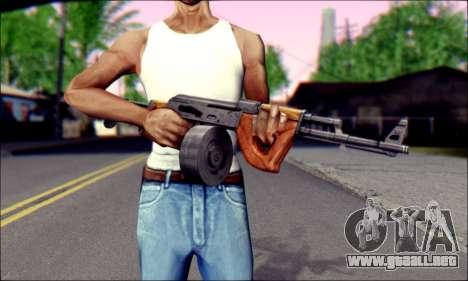 Importado AK para GTA San Andreas tercera pantalla