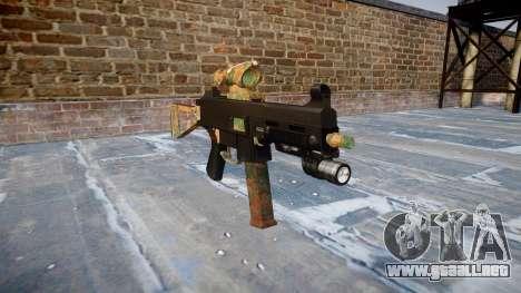 Gun UMP45 Jungle para GTA 4
