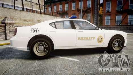 GTA V Bravado Police Buffalo [ELS] para GTA 4 left