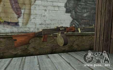 РПД de Battlefield: Vietnam para GTA San Andreas segunda pantalla