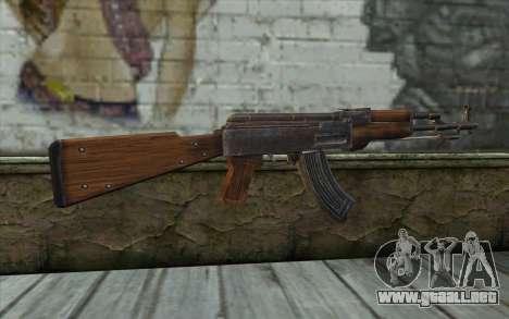 Тип 56 (АКМ) de Battlefield: Vietnam para GTA San Andreas segunda pantalla
