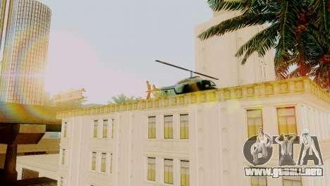 Vehículos nuevos en LSPD para GTA San Andreas segunda pantalla