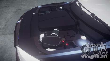 BMW 530d F11 Metropolitan Police [ELS] SEG para GTA 4 vista interior