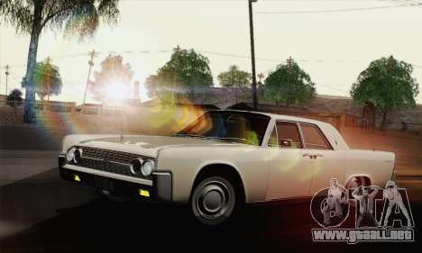 Lincoln Continental Sedan (53А) 1962 (HQLM) para GTA San Andreas